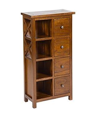Colonial Style Möbelstück braun