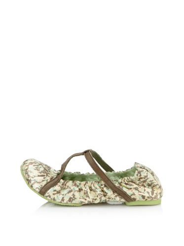 Diesel Kids Strappy Flat Shoe (Brown)