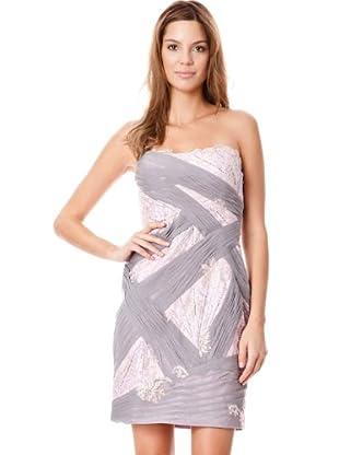 BDBA Vestido Damaris (gris / lila)