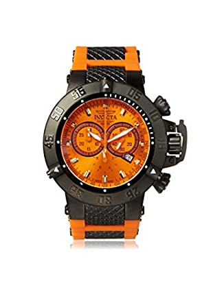 Invicta Men's Subaqua Noma III Orange Polyurethane Watch