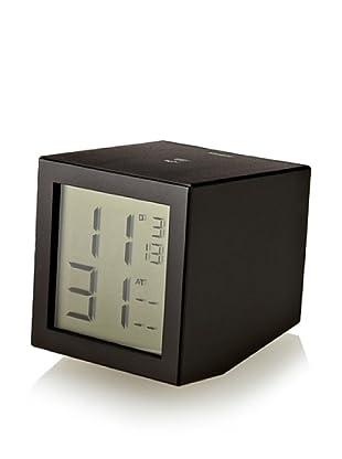 Lexon Prism LDC Clock, Black