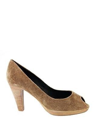 Eye Shoes Zapatos Peep Toe (Topo)