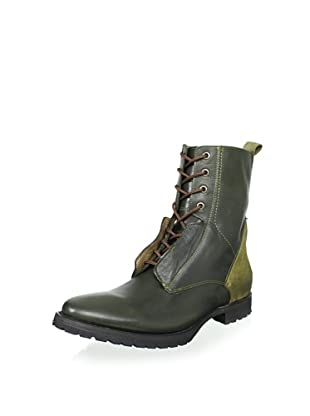 JD Fisk Men's Locke Boot (Army Multi Leather)