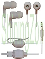 3.5mm In Ear Earbud Stereo Sound Noise Free Earphones Headphone Mini Size HandsFree Headset with Mic For Coolpad Note 3