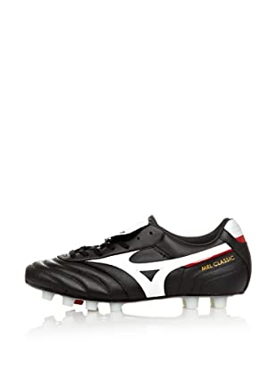 Mizuno Zapatillas Football Morelia Classic MD (Negro / Blanco / Rojo)