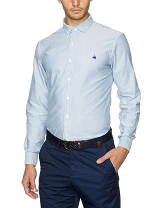 Brooks Brothers Camisa Jerrod (Azul)