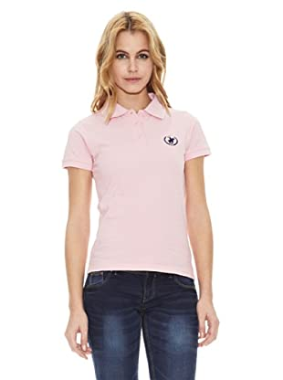 Polo Club Polo Manga Corta Custom Fit Small Horse (Rosa)