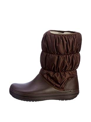 Crocs Botas de Nieve Winter Puff (Marrón)