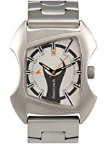 Fastrack Analog Watch - For Men - Silver - 3024SM03