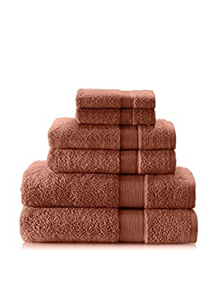 Espalma 6-Piece Signature Bath Towel Set (Spice)
