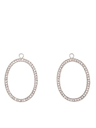 Luxenter Pc00600 - Pendientes Combinables Earringbar De Plata