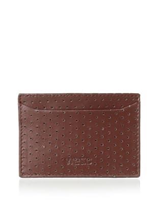 WeSC Men's Yngwie Credit Card Case (Golden Camel)