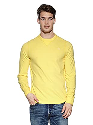 Abercrombie & Fitch Pullover Classic Crew (gelb)