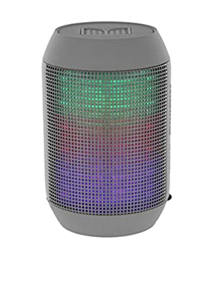 iPM Pump It Up LED Light Up Bluetooth Speaker, Grey