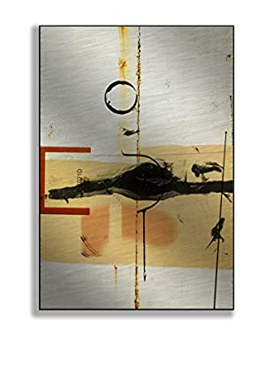 Gallery Direct John Weber Oxidation Artwork on Mounted Metal