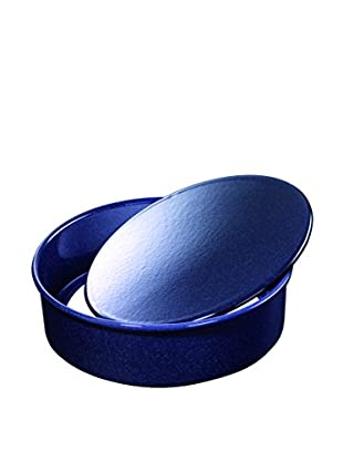 Kaiser Emaille Baking Pan with Removable Base, Blue