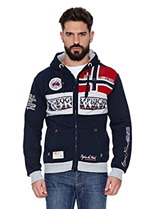 Geographical Norway Sudadera Flyer Men 100 (Azul marino)
