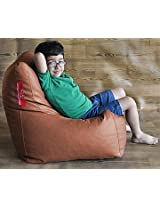 Style Homez Tan Chair Bean Bag