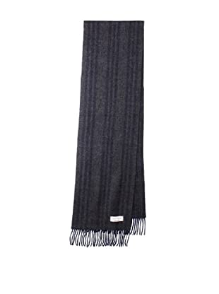 Joseph Abboud Men's Triple Stripe Scarf (Navy/Grey)