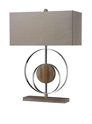 Artistic Lighting Shiprock Washed Wood Table Lamp