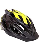 Probike HL2950 Cycling Helmet -Black and Yellow (Size-M)