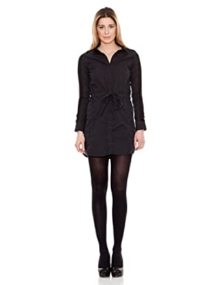 Calvin Klein Jeans Vestido Lazo (Negro)
