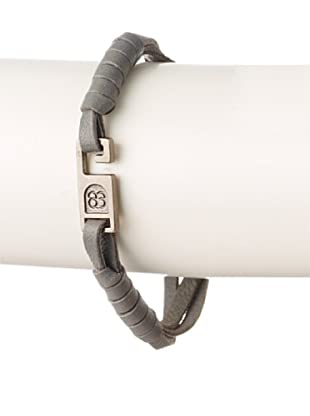 Griffin Grey Paxton Leather Bracelet