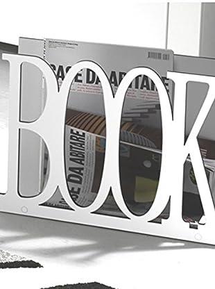 Zeitungsständer Book weiß
