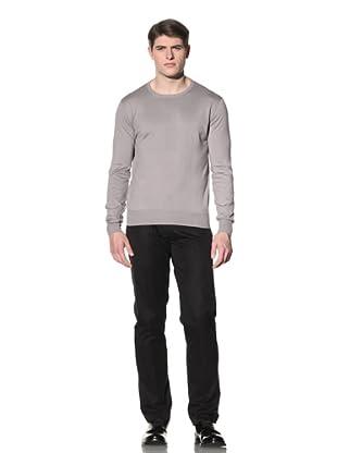 Cruciani Men's Long Sleeve Shirt (Grey)