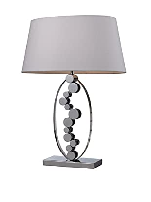 Dimond Lighting Sidney Crystal Table Lamp with Chrome Accents