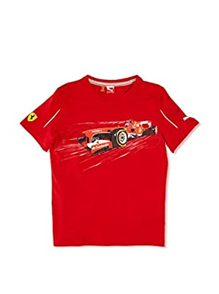 Puma Camiseta Sf Graphic (Rojo)