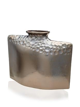 Pacific Décor Large Droplet Vase (Metallic Black)