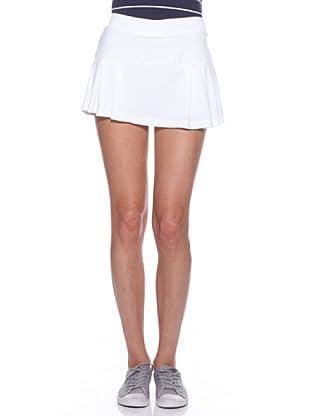 Ellese Falda Tenis Pleated (Blanco)
