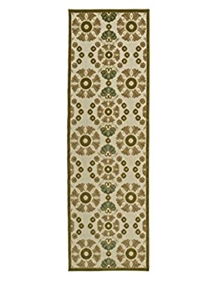Kaleen Five Seasons Indoor/Outdoor Rug, Olive, 2' 6
