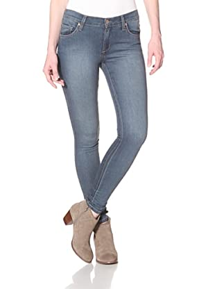 James Jeans Women's Twiggy Fiore 5 Pocket Skinny Jean (Washed Out Blue)