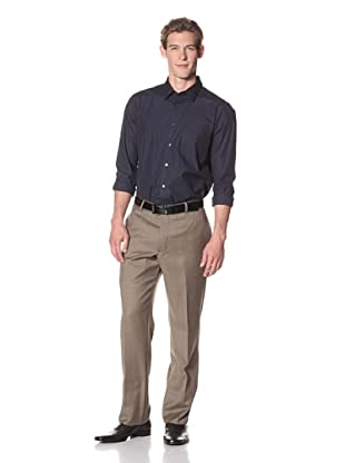 Joseph Abboud Men's Hudson Fit Flat-Front Trousers In Loro Piana Fabric (Brown)