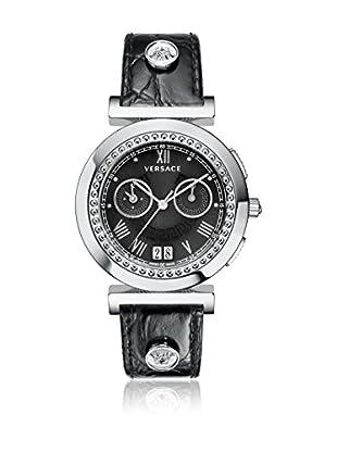 Versace Uhr mit schweizer Quarzuhrwerk Reve VA9010013 schwarz 41 mm
