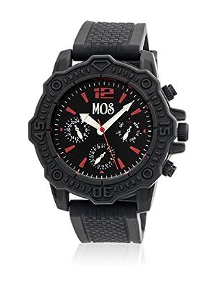 Mos Reloj con movimiento cuarzo japonés Mospg104 Negro 45  mm