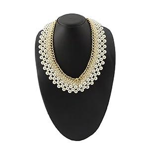 Necklace handicraft pearls bce jsmjwnl0036
