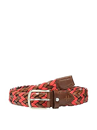 Hackett London Cinturón Contrast Woven Plait