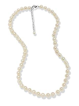 Valero Pearls 602016223 - Collar de mujer de plata de ley con perla de agua dulce, 65 cm