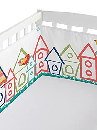 MOSHI MOSHI Paragolpes Birdhouse Multicolor 210 x 40 cm