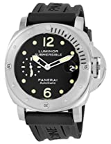 Panerai Men's M00024 Luminor Submersible Black Dial Watch