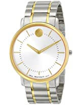 "Movado Men's 0606689 ""Movado TC"" Stainless Steel Two-Tone Watch"