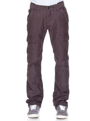 Springfield Pantalón Algodón Bolsillos (gris)