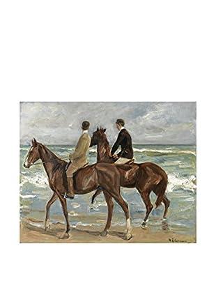 LegendArte  Wandbild Zwei Reiter am Strand von Max Liebermann
