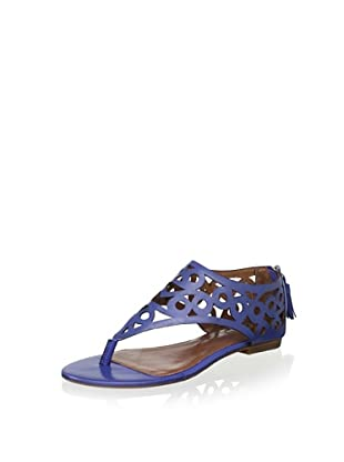 Matiko Women's Marta Detail Thong Sandal (China Blue)
