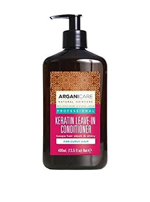 ARGANICARE Bálsamo Capilar Sin Aclarado Keratin For Curly Hair X