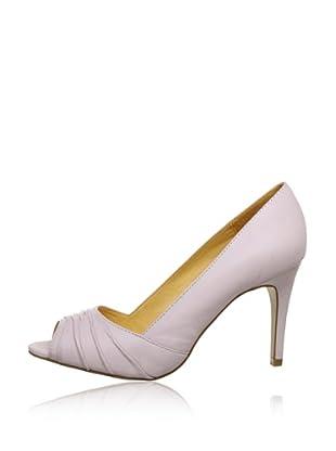 Buffalo London 112-3151 KID LEATHER 143313 - Peep Toes de cuero  mujer (Rosa)