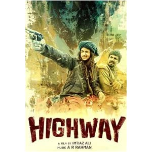 Highway (2014) | Hindi [DVD]